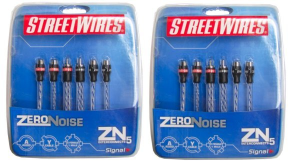 ZN5Y2F�Streetwires ZN5Y2F 2 Female to Male Wire (Pair)
