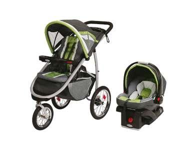 graco fastaction fold jogger stroller with snugride 35 car seat 1855606. Black Bedroom Furniture Sets. Home Design Ideas