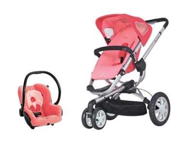 Quinny Buzz 3 Stroller & Maxi Cosi Mico Car Seat Travel ...