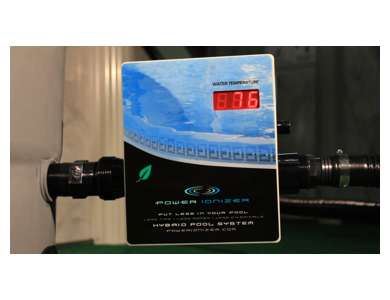 Main access power ionizer swimming pool sanitation system - Swimming pool ionizer ...
