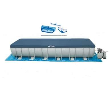 Intex 24 39 x 12 39 x 52 ultra frame on sale for - Ultra frame rectangular swimming pool ...
