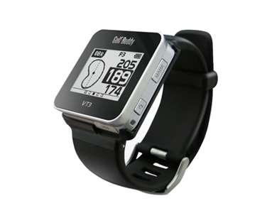GolfBuddy GB8-VT3-14 Smart Golf Watch, Black, Small
