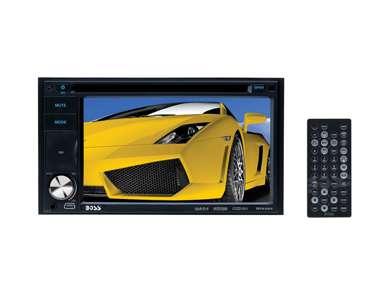 "BV9354BOSS BV9354 Double Din 6.2"" LCD Touchscreen DVD/MP3/CD Car Audio Player"