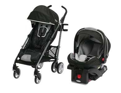 graco snugride click connect 35 lx car seat breaze folding stroller harris 1906608. Black Bedroom Furniture Sets. Home Design Ideas