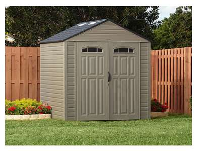 Rubbermaid  7'x7' X-Large Storage Shed