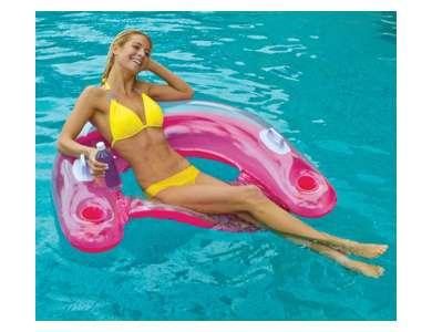 Intex Sit 39 N Float Inflatable Pool Tube Raft 58859ep