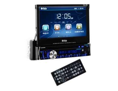 "BV9986BIBoss 7"" Touch Screen DVD/MP3 Player with USB/SD Bluetooth | BV9986B"
