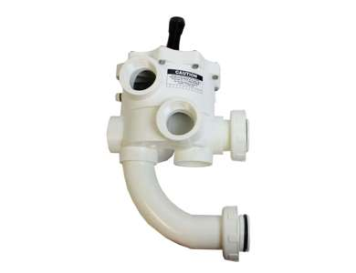 Pentair 261152 2 Threaded Multiport Valve Replacement Pool and Spa D.E. Filter