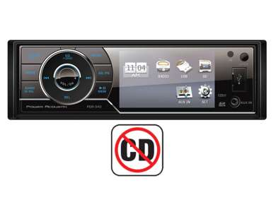 PDR340Power Acoustik 3.4-Inch MP3/USB Digital Media Receiver | PDR-340