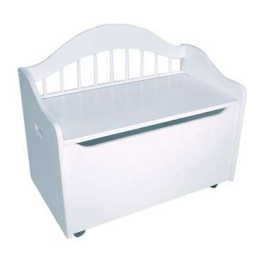KidKraft Limited Edition Toy Box (White)