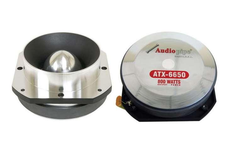 ATX6650�Audiopipe ATX-6650 800W Aluminum Titanium Super Tweeter