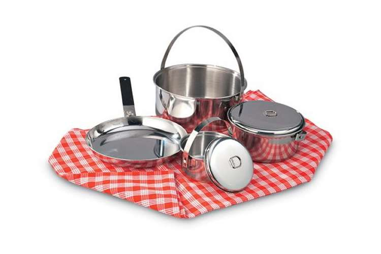 13435�Texsport Family Stainless Steel Cook Set