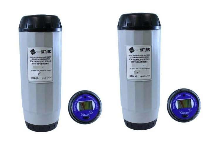 W28125�Zodiac Nature 2 G Mineral Sanitizer tridge 25K Gal (Pair)