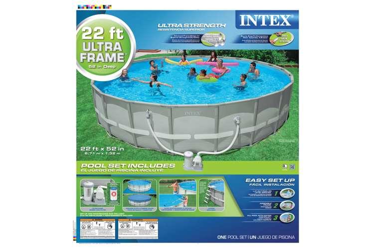 Intex 22 X 52 Ultra Frame Pool Set 54960wl