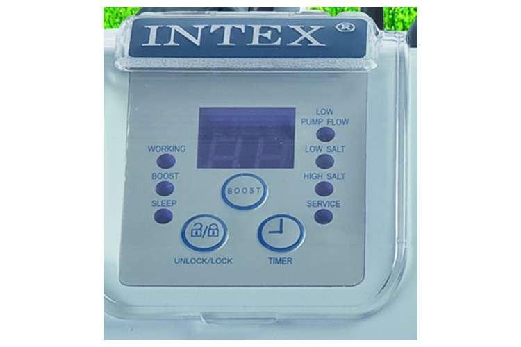 28647EG(56673EG) + 28661EG(54605EG)�Intex 2800 GPH Krystal Clear Sand Filter Pool Pump & Saltwater System