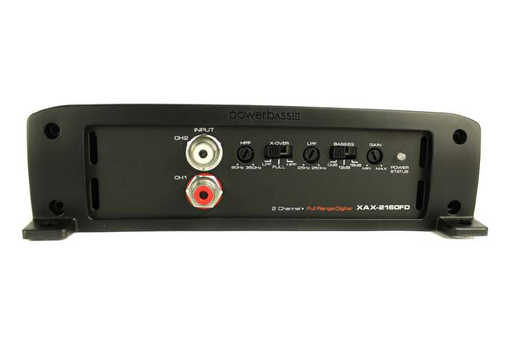 XAX-2160FD�PowerBass XAX-2160FD 2 Channel 640W Amplifier