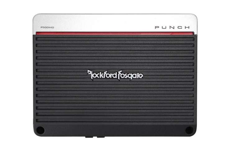 P500X4D�Rockford Fosgate P500X4D 500 Watt 4-Channel Car Audio Amplifier
