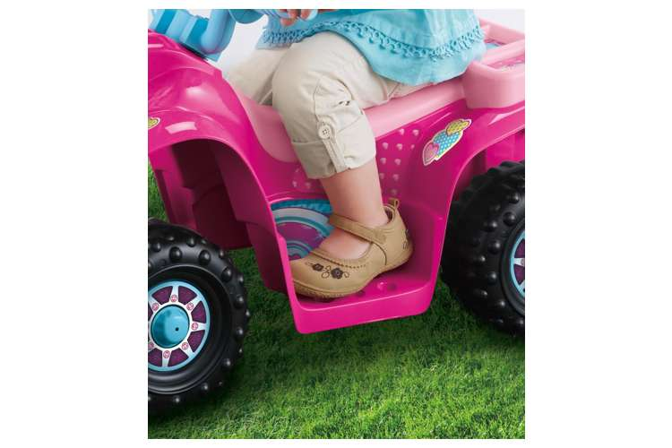 Barbie Electric Car: Fisher-Price Power Wheels Barbie Lil' Quad : CDY13