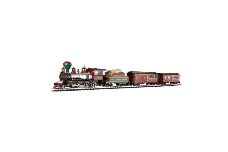 Bachmann Trains White Christmas Express Train Set, Large ...