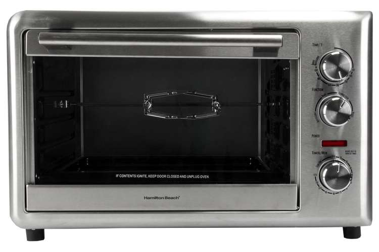 Hamilton Beach Countertop Oven with Convection & Rotisserie 31103 ...
