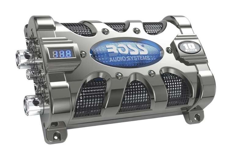 CAP10�Boss CAP10 10 Farad Digital LED Capacitor