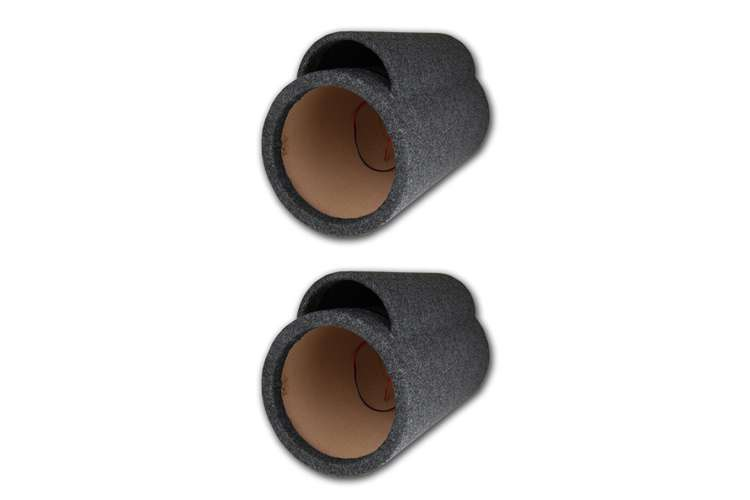 TUB12�Nippon TUB12 12-Inch 5/8-Inch Ported Subwoofer Tube Enclosures (Pair)